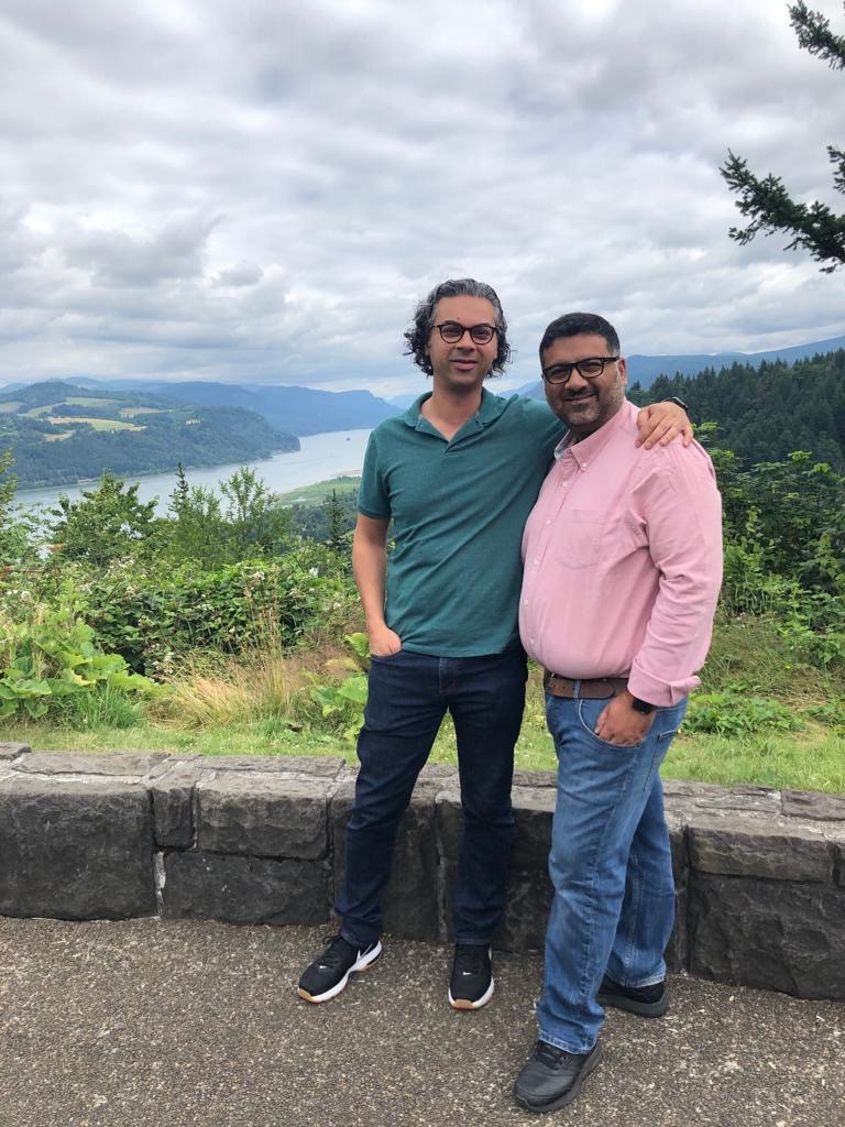 Us. Columbia River Gorge. July, 2019.